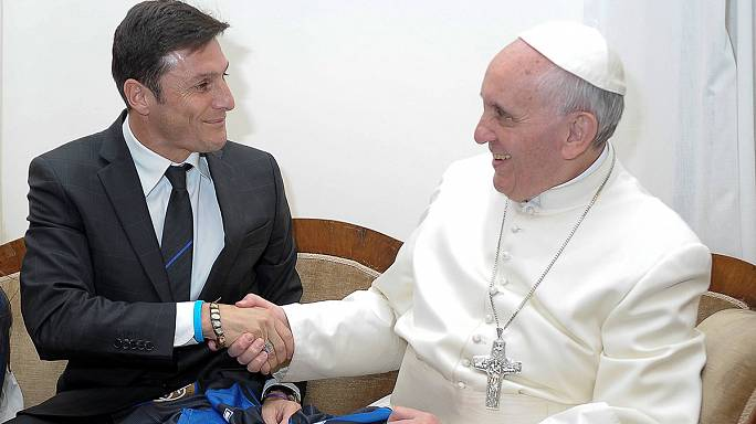 """Le pape François à l'initiative d'un """"match interreligieux pour la paix"""""""