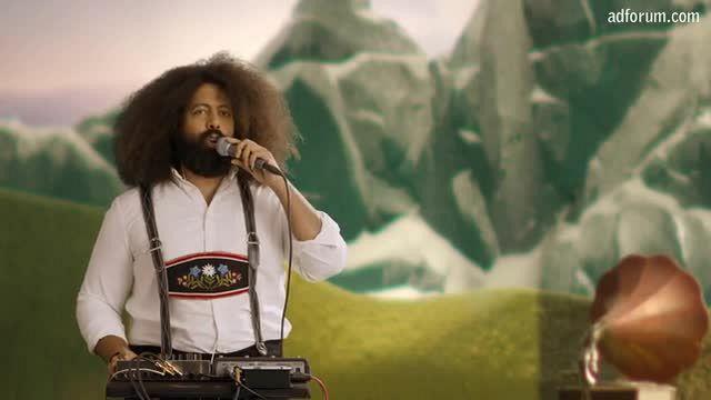 Reggie Watts Yodels for Wind Power (Greenpeace)