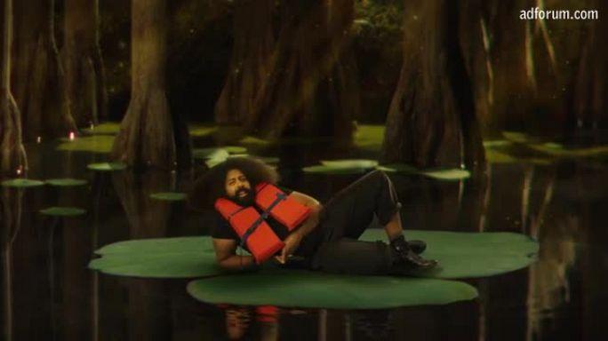 Reggie Watts Hydropowers the Internet (Greenpeace)
