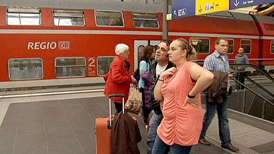 German rail workers' strike brings travel chaos