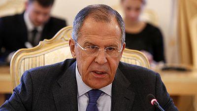 """Lawrow beschuldigt """"Gruppe des Krieges"""", Frieden in der Ostukraine zu verhindern"""