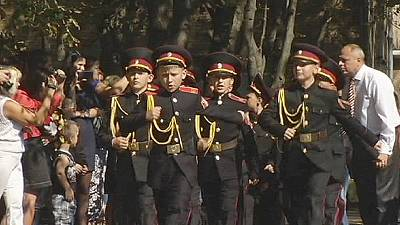 Back to school for Kyiv's cadets