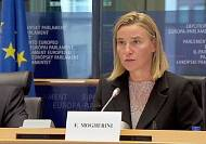 Mogherini faces MEPs after nomination
