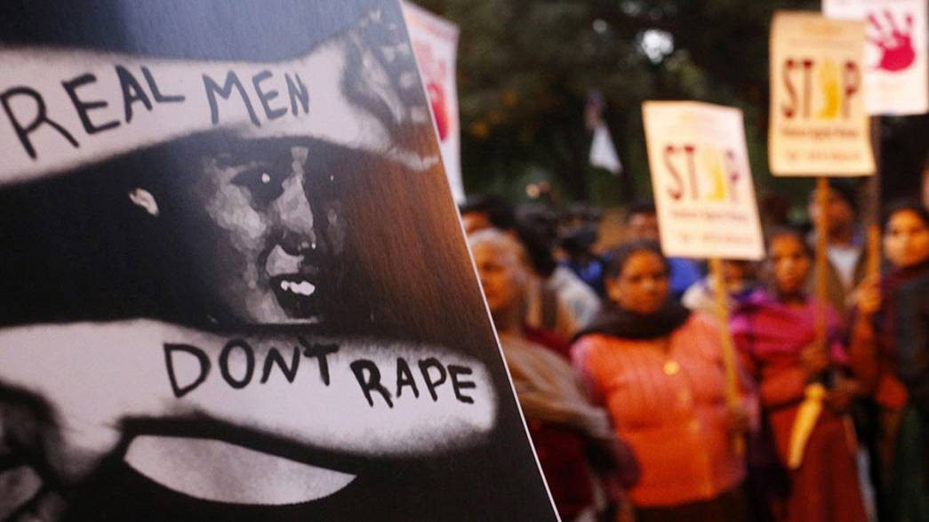 Two held over suspected gang rape in india