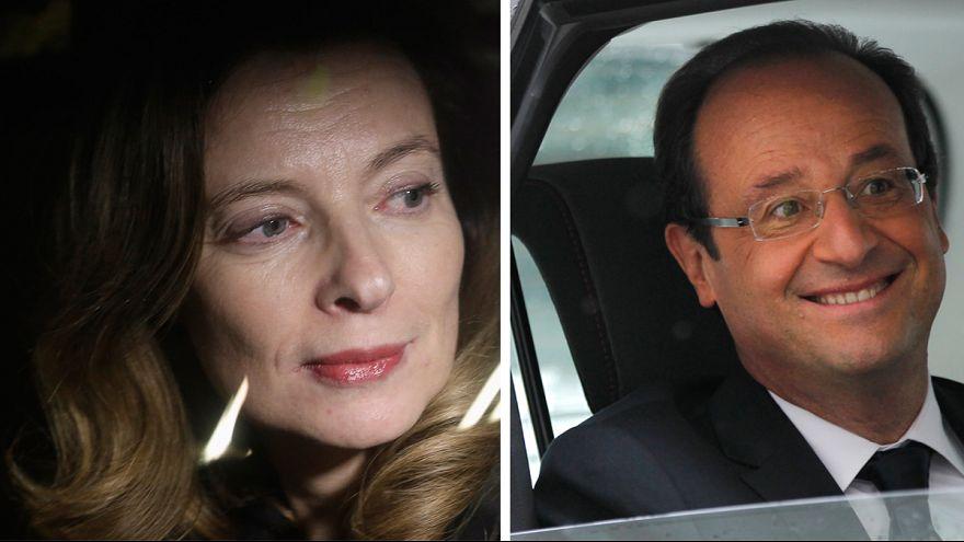 """François Hollande """"no sabía nada"""" del libro de su expareja"""