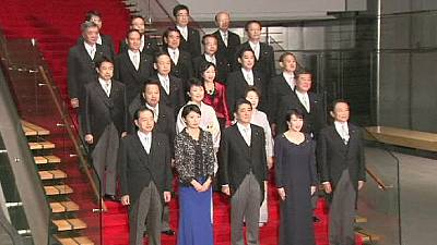 Japan: Challenges ahead as new cabinet is sworn in