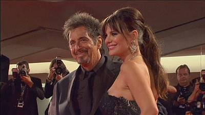 Al Pacino vies for Gold at Venice Film Festival
