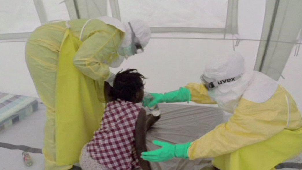 Ébola: Epidemia fora de controlo
