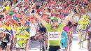 Degenkolb celebrates a third stage win at Vuelta
