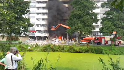 Apartment explosion kills two near Amsterdam