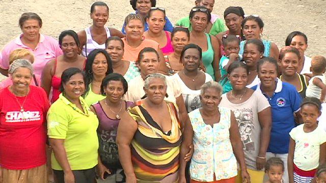 Kolombiya'da 'Kelebekler Ağı' kadınlara yardım elini uzatıyor