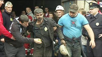 Five miners feared dead after Bosnia rock burst