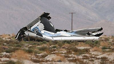 Pilot dies as Virgin Galactic spacecraft crashes in California