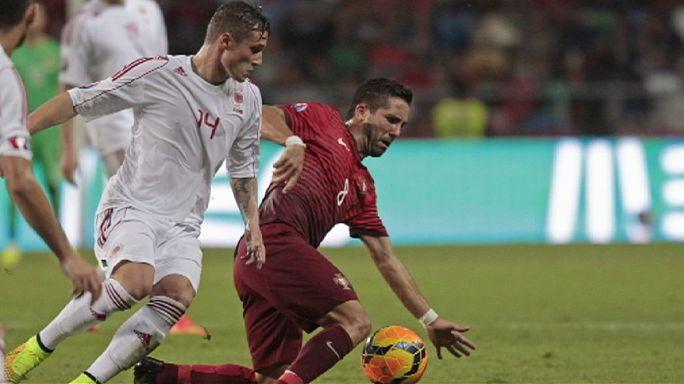 الزاوية: ألمانيا تنتصر والبرتغال تتعثر في التصفيات المؤهلة لبطولة أوروبا 2016