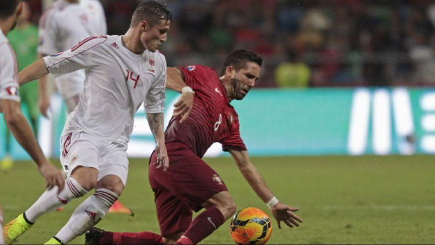 Albania gana a Portugal en fase de clasificación para la Eurocopa 2016