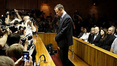 Oscar Pistorius: from track to murder trial