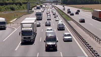 German coalition row over toll road highway robbery