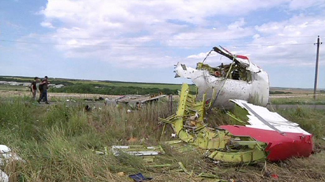 Informe preliminar accidente de avión en Ucrania confirma que fue derribado