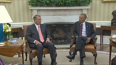 Obama tells congressional leaders he can go it alone against ISIL