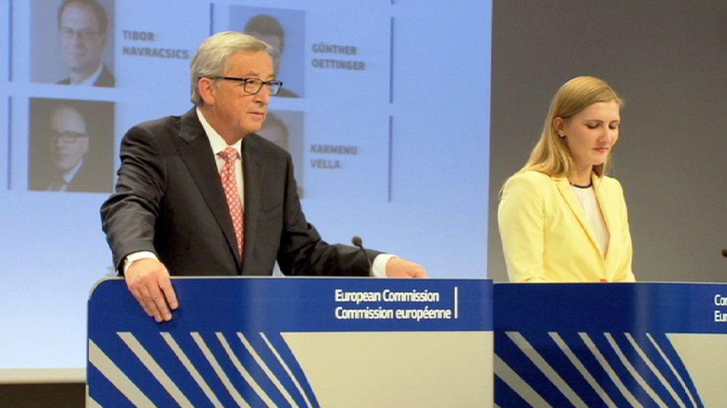 Executivo de Juncker quer dar novo fôlego ao projeto europeu