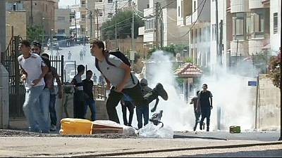 Clashes erupt in West Bank following funeral of Palestinian