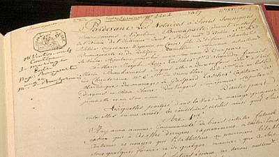 Marriage contract between Napoleon and Josephine up for auction