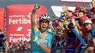 Vuelta a Espana: Aru wins stage as Froome moves into second overall