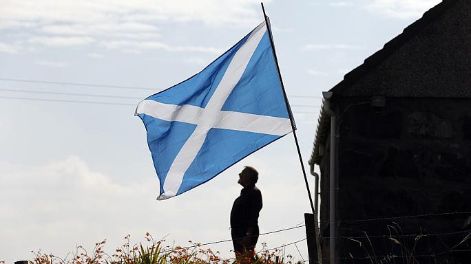 """L'avenir de l'Écosse divise à la """"frontière"""" avec l'Angleterre"""