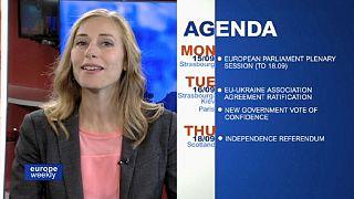 برنامج يوروب ويكلي في الاسبوع الثاني من شهر ايلول سبتمبر 2014