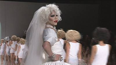 Betsey Johnson's bridal drags have a ball in NYC