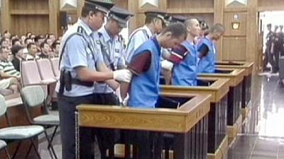 Three sentenced to death in China for deadly knife attack at station