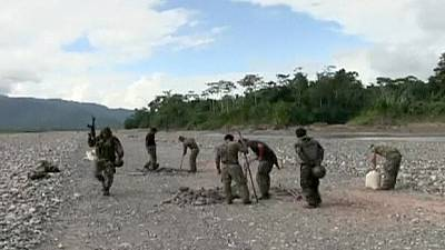 Peru wages war on the cocaine trade destroying the narco runways