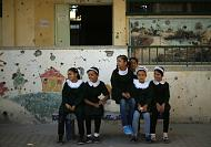 Schools reopen in war torn Gaza and Damascus