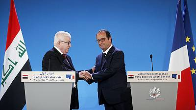 """Hollande calls for """"global' response to Islamic State"""