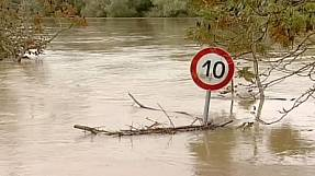 Severe floods hit Croatia