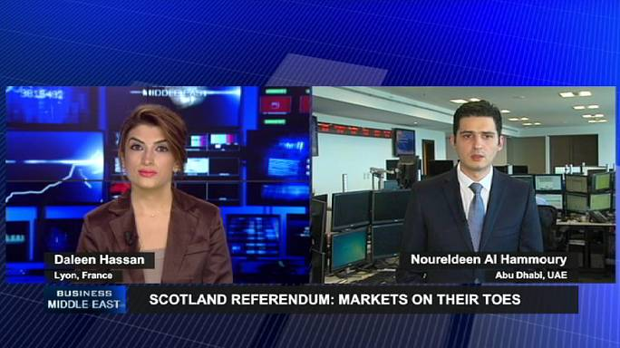 Ripple effect of Scotland's independence vote on Mideast markets