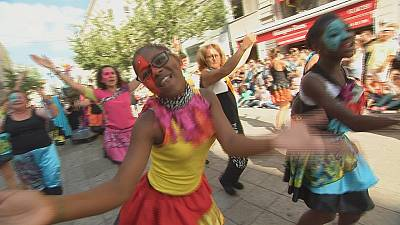 Dancers descend on Lyon festival