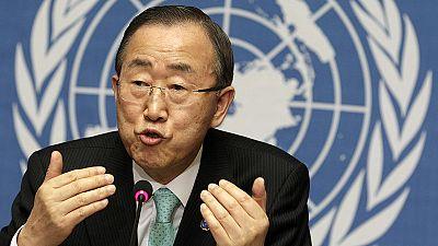 Tem uma questão para Ban Ki-moon?