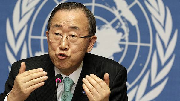Do you have a question for Ban Ki-moon?