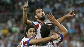 Historic day for Atletico in Madrid derby