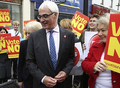 Alistair Darling, steady