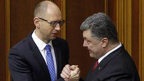 "EU and Ukraine parliaments hail ""historic"" treaty"
