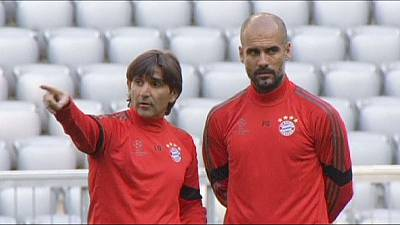 Bayern Munich and Man City prepare for Champions League clash