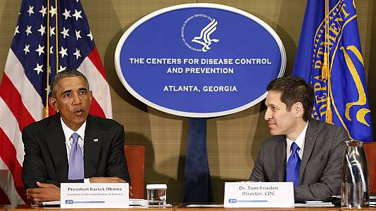 Barack Obama mobilise ses troupes contre le virus Ebola