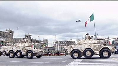 Mexico displays military might in Independence celebrations