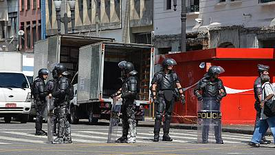 Sao Paulo hotel squatters evicted; violence breaks out