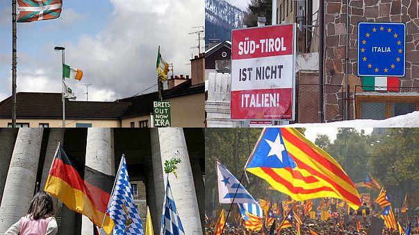 Les aspirations indépendantistes en Europe