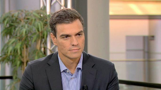 "PSOE lideri Sanchez : ""Federal İspanya istiyoruz"""