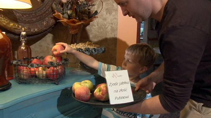 Putin'e elma yok