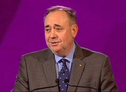 Salmond, persistent champion of Scottish independence